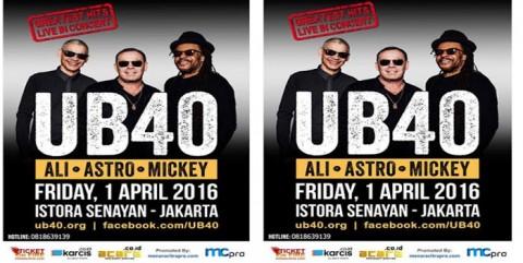 Jadwal Konser Konser UB40 Jakarta 2016 2016