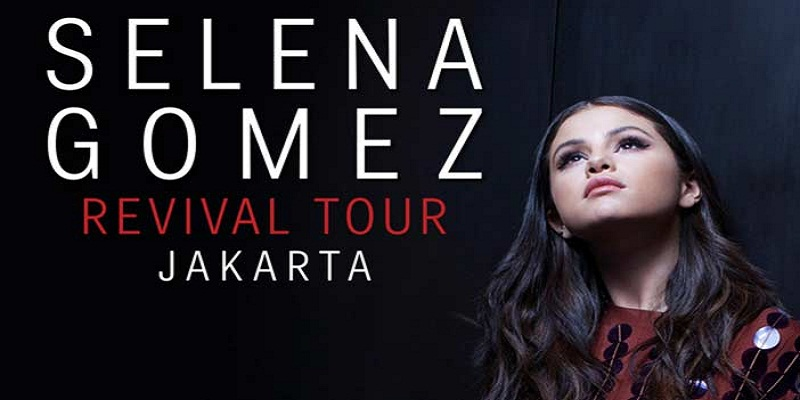 SELENA GOMEZ GELAR KONSER 'REVIVAL TOUR 2016 DI JAKARTA