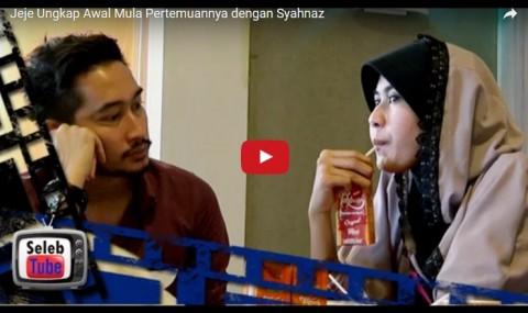 Jeje Ungkap Awal Mula Pertemuannya dengan Syahnaz