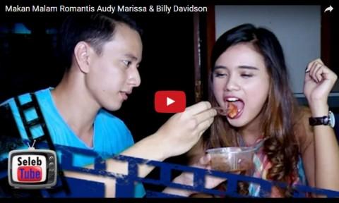 Audy Marissa & Billy Davidson Makan Malam Romantis