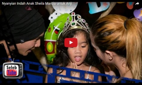 LETICIA Anak Sheila Marcia NyanyiKan LAGU Indah untuk Anji