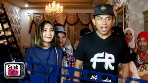 Fakhrul Razi Dapat Kejutan Ulang Tahun dari Rina Nose & Fans