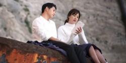 SONG JONG KI & SONG HYE KYO BERI DUKUNGAN UNTUK PARK BO GUM