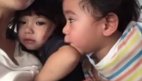 [VIDEO] GEMPI TOLAK DICIUM RAFATHAR